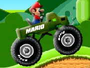 Super Mario Truck Rider game