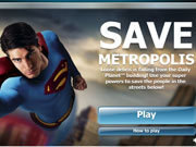 Superman Save Metropolis game