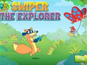 Swiper The Explorer game