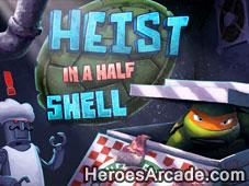 Teenage Mutant Ninja Turtles Heist In A Half Shell game