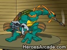 Teenage Mutant Ninja Turtles Mouser Mayhem game