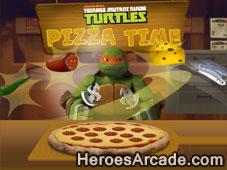 Teenage Mutant Ninja Turtles Pizza Time game