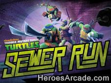 Teenage Mutant Ninja Turtles Sewer Run game