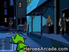 Teenage Mutant Ninja Turtles Shootdown game