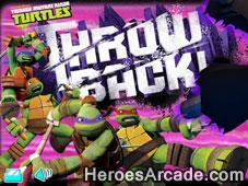 Teenage Mutant Ninja Turtles Throw Back game