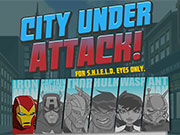 The Avengers City Under Attack game