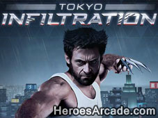 The Wolverine Tokyo Infiltration game