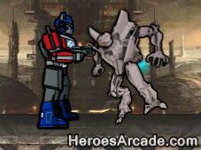 Transformers Showdown game