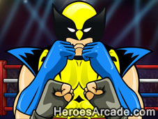 Wolverine Punch Out game