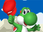 Yoshi Egg Throwing game