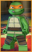 Michelangelo TMNT Orange Ninja Turtle